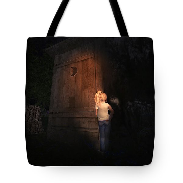 Tote Bag featuring the digital art I Was Six by Kylie Sabra