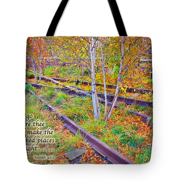 I Will Follow Lord Tote Bag
