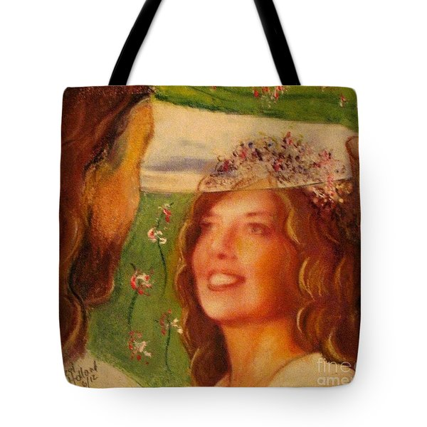 I Will Lift The Veil Tote Bag
