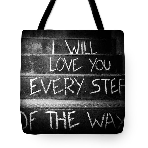 I Will Love You Tote Bag