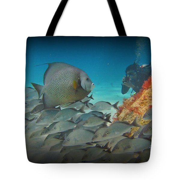 I Will Pose Tote Bag by John Malone Halifax photogrpher