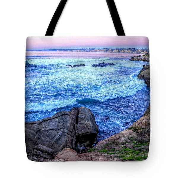 I Will Put You In A Cleft In The Rock Tote Bag by Sharon Soberon
