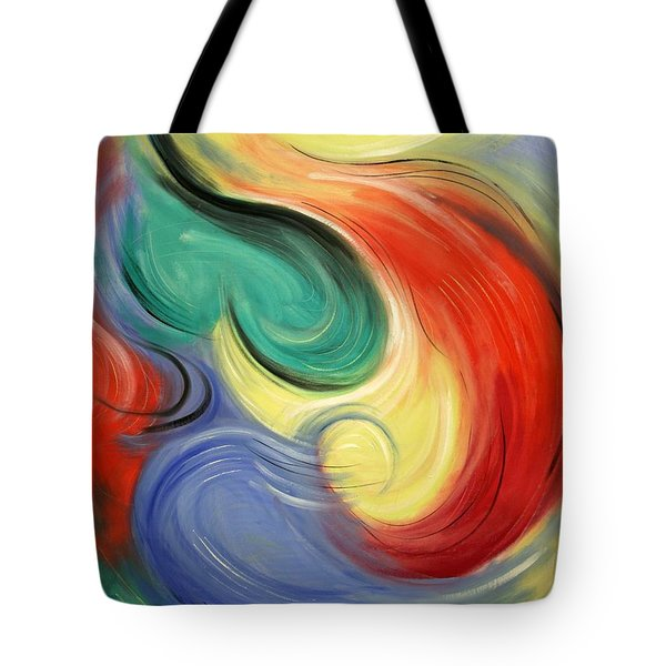 I Will Supply All Your Needs Tote Bag by Anthony Falbo