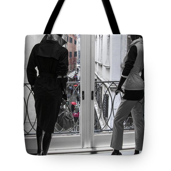I Wonder If They Are Happy Tote Bag
