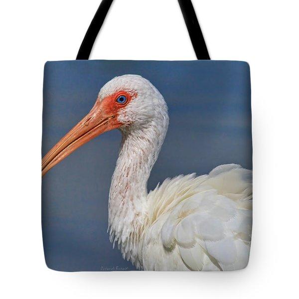 Ibis Ruffled Tote Bag