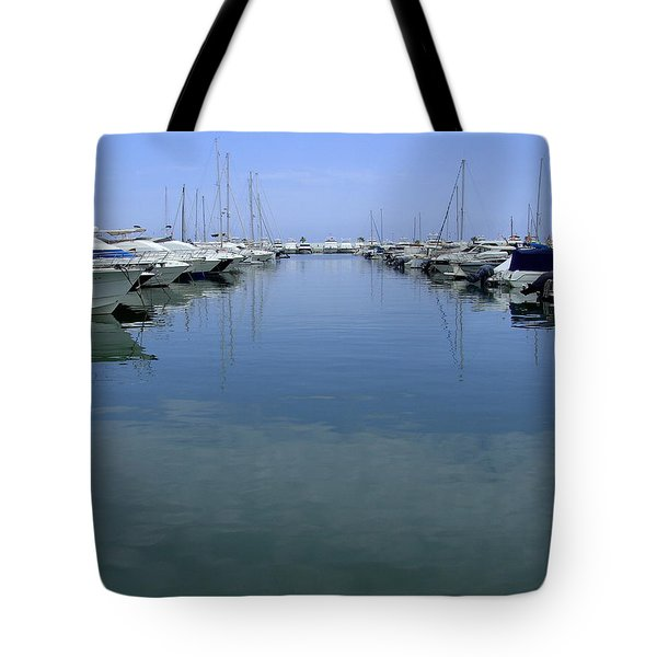 Ibiza Harbour Tote Bag