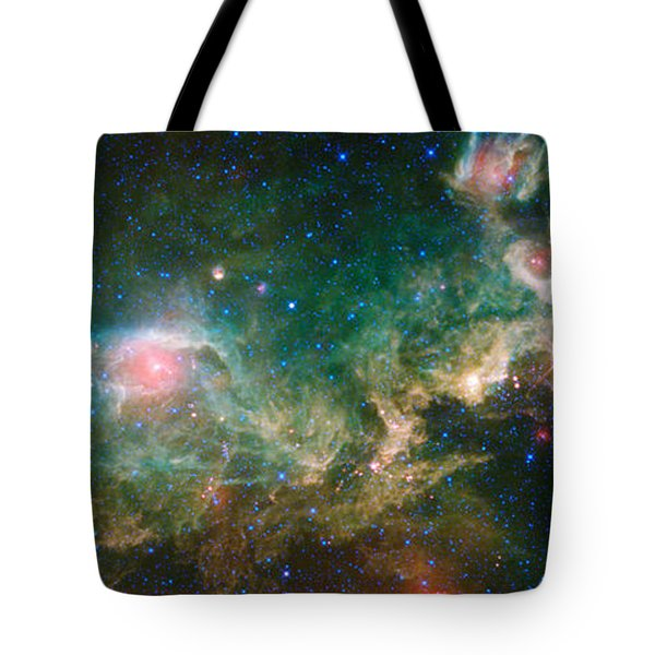 Ic 2177-seagull Nebula Tote Bag by Science Source