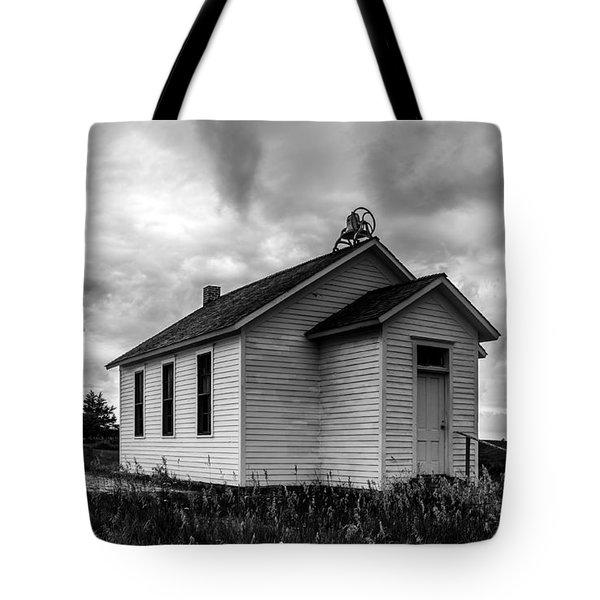 Icarian Schoolhouse Tote Bag