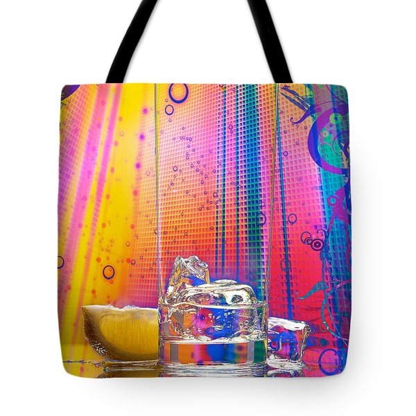 Ice-1 Tote Bag by Mauro Celotti