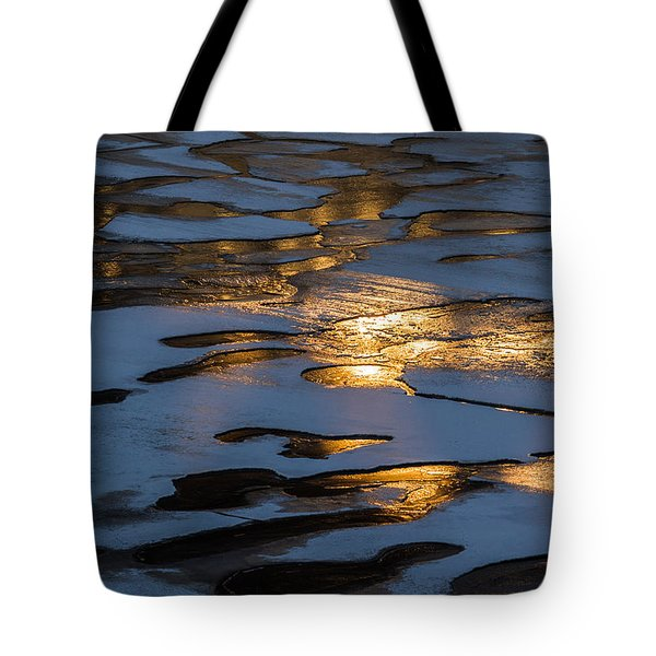 Ice And Fire - Featured 3 Tote Bag by Alexander Senin
