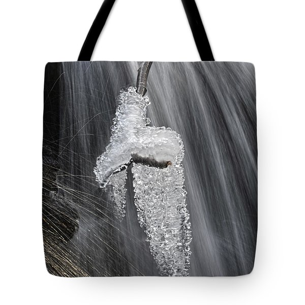 Ice And Water Tote Bag by Dan Friend