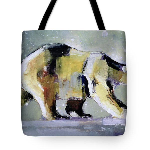 Ice Bear Tote Bag