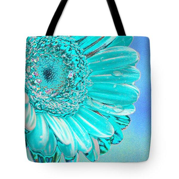 Ice Blue Tote Bag by Carol Lynch