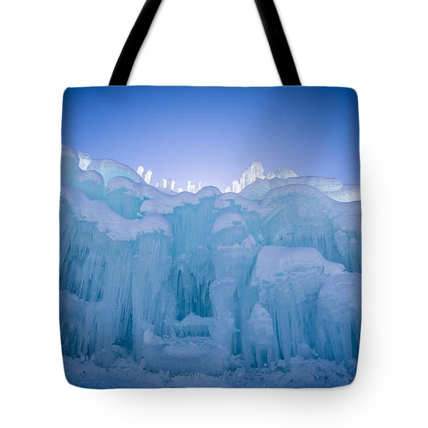 Ice Castle Tote Bag by Edward Fielding