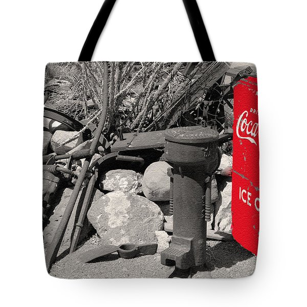 Ice Cold Drink Tote Bag by Leticia Latocki