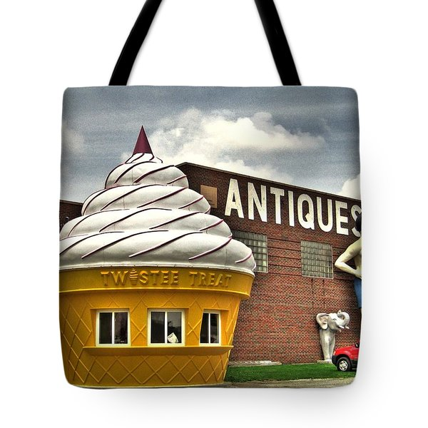 Ice Cream Tote Bag by Jane Linders