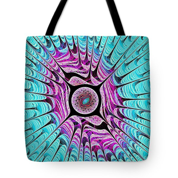 Ice Dragon Eye Tote Bag