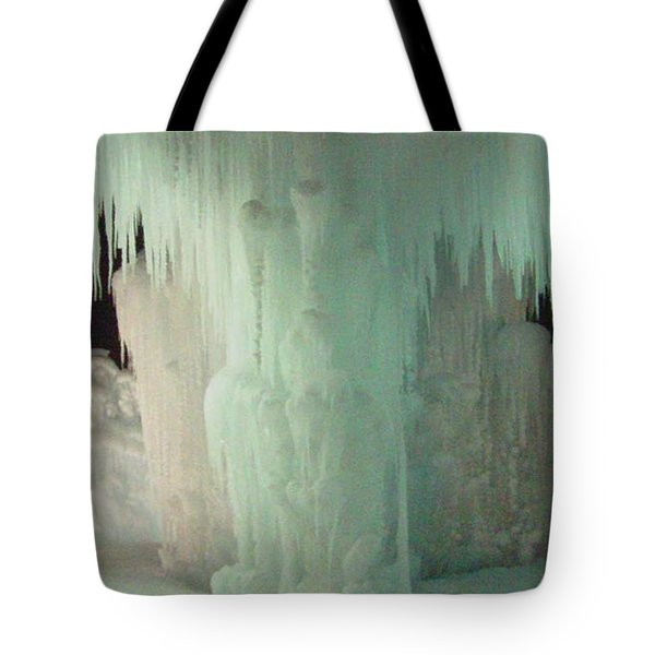 Ice Flow 22 Tote Bag by Feile Case