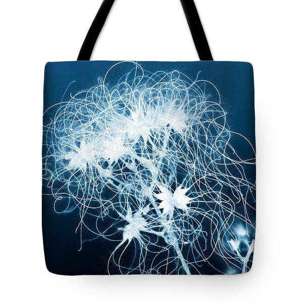 Ice Flower Tote Bag