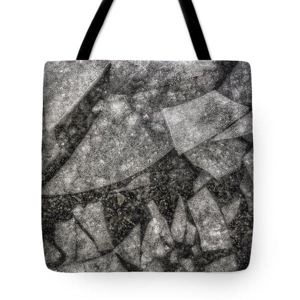 Ice Fractal Tote Bag by Jason Politte