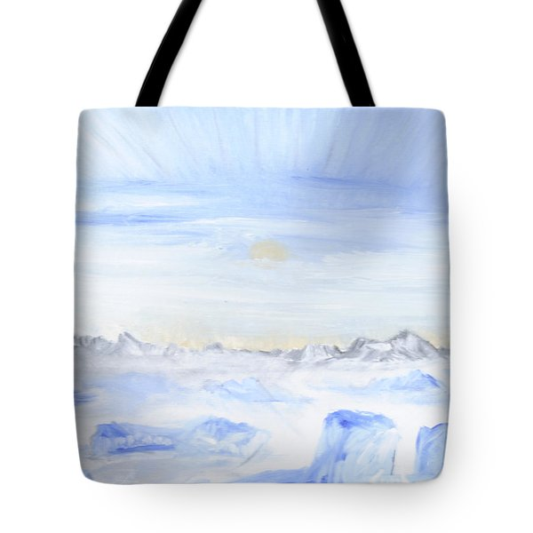 Ice Movement Tote Bag