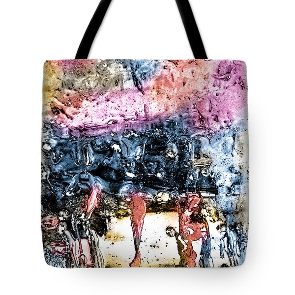 Ice Number Four Tote Bag by Bob Orsillo