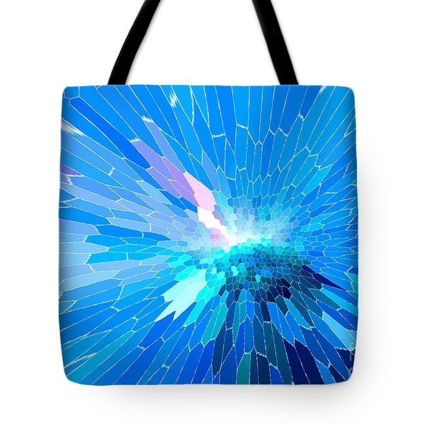 Tote Bag featuring the photograph Ice Queen by Mariarosa Rockefeller