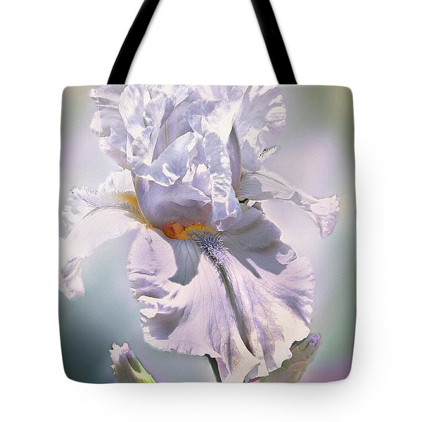 Tote Bag featuring the digital art Ice Queen by Mary Almond