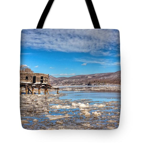 Ice Shack Tote Bag