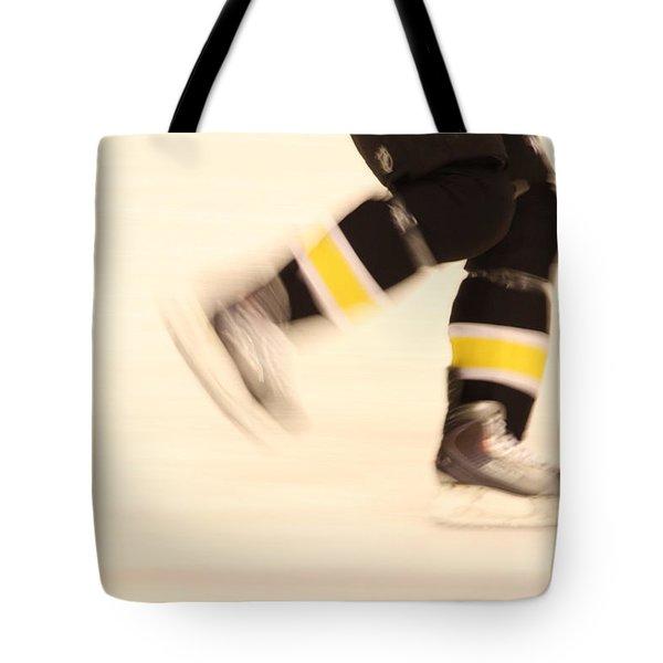Ice Speed Tote Bag by Karol Livote