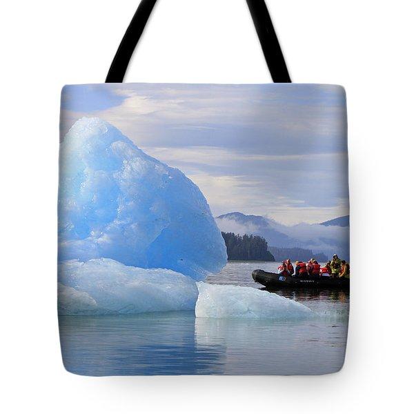Iceberg Ahead Tote Bag