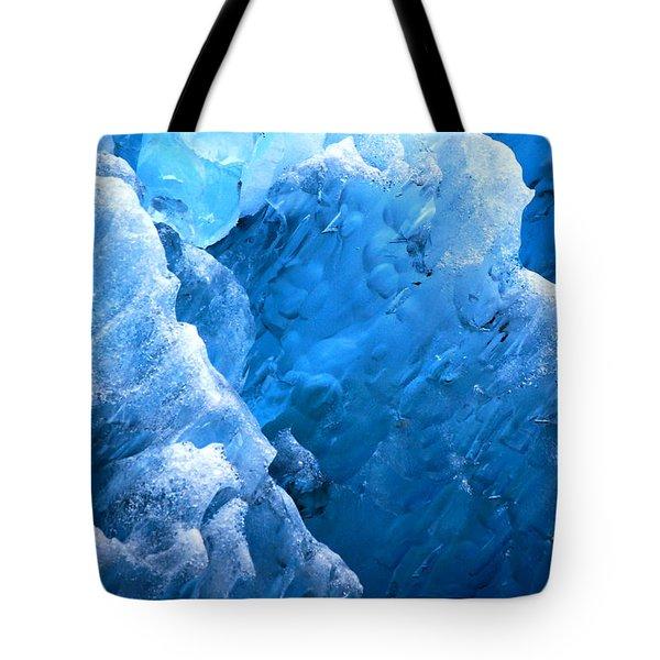 Iceberg Blues Tote Bag