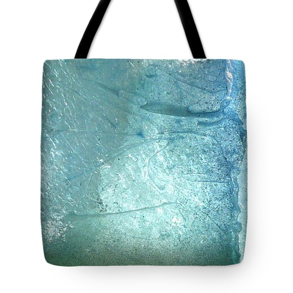 Iceberg Sculpture Detail Tote Bag by Rick Silas