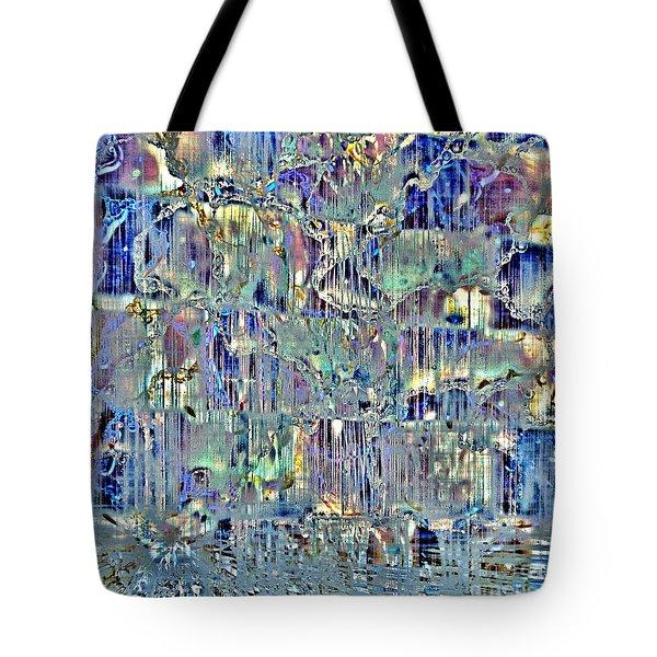 Tote Bag featuring the digital art Icebreaker-no1 by Darla Wood