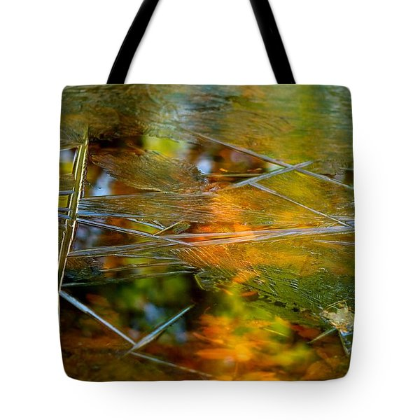 Iced Fall Tote Bag by Simone Ochrym