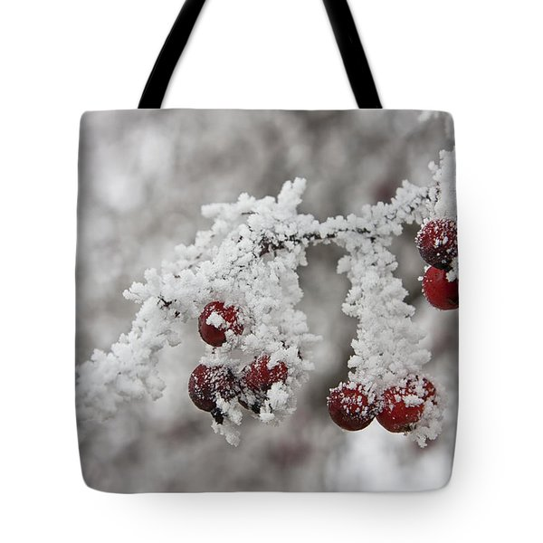 Iced Hawthorn Tote Bag