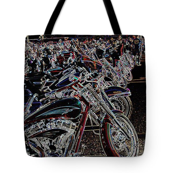 Iced Out Bikes Tote Bag
