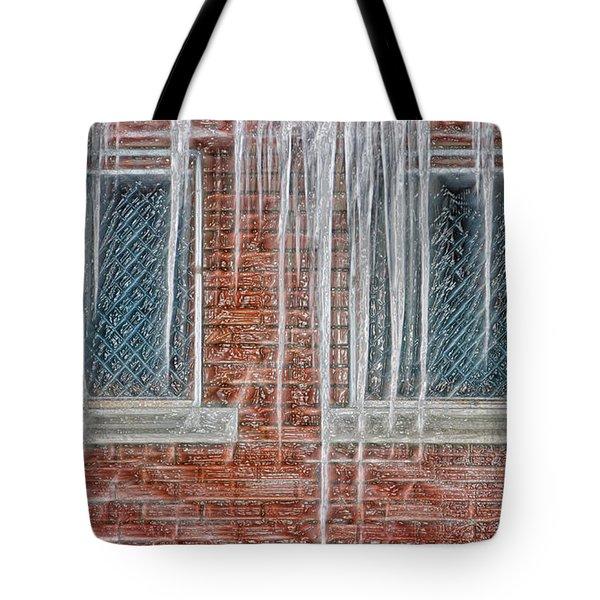 Iced Over Tote Bag by Steve Ohlsen
