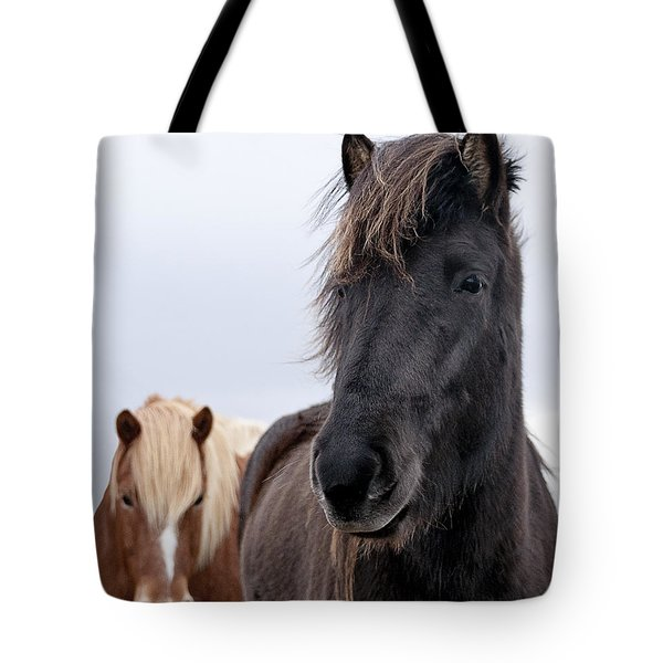 Iceland Horses Tote Bag