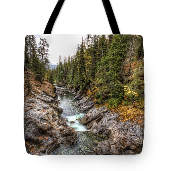 Icicle Gorge Tote Bag