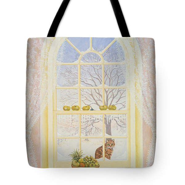 Icicles Tote Bag by Ditz
