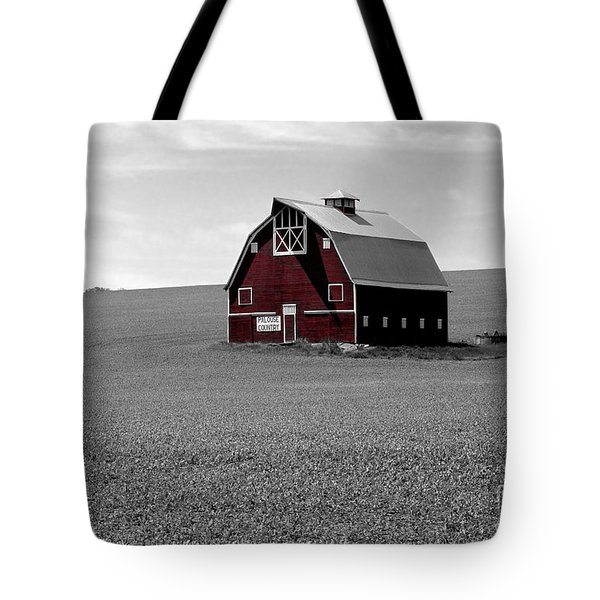 Icon Of The Palouse Tote Bag by Sharon Elliott