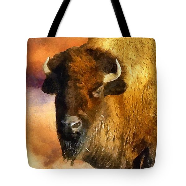 Icon Of The Plains Tote Bag by RC deWinter
