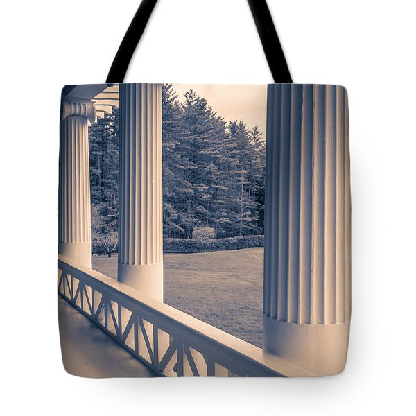 Iconic Columns On An Estate Tote Bag
