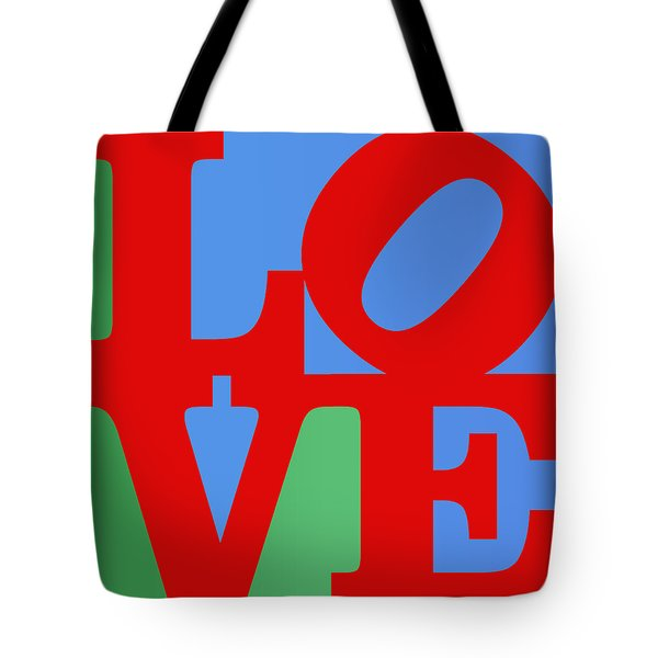 Iconic Love Tote Bag by Paulette B Wright