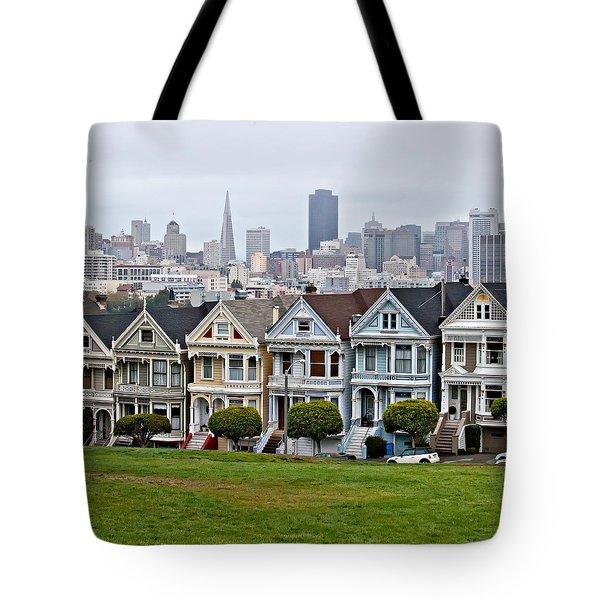 Iconic Painted Ladies Tote Bag