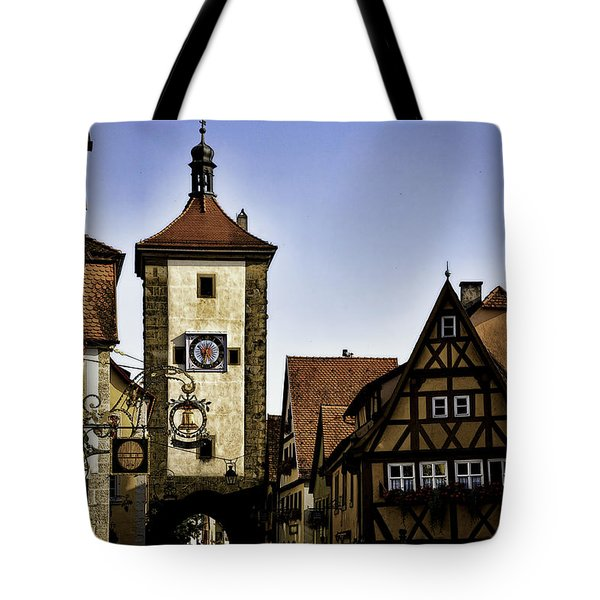 Iconic Rothenburg Tote Bag by Joanna Madloch