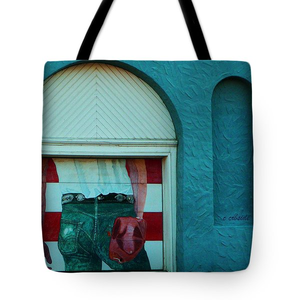 Iconic Urban Mural Tote Bag by Chris Berry