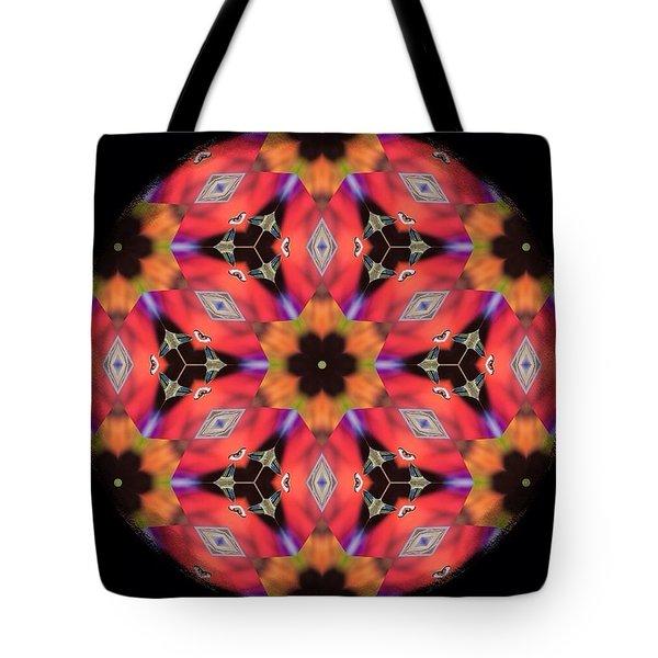 iCube Mandala Tote Bag