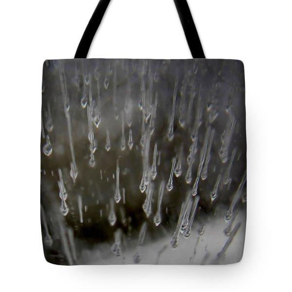 Icy Air Tote Bag